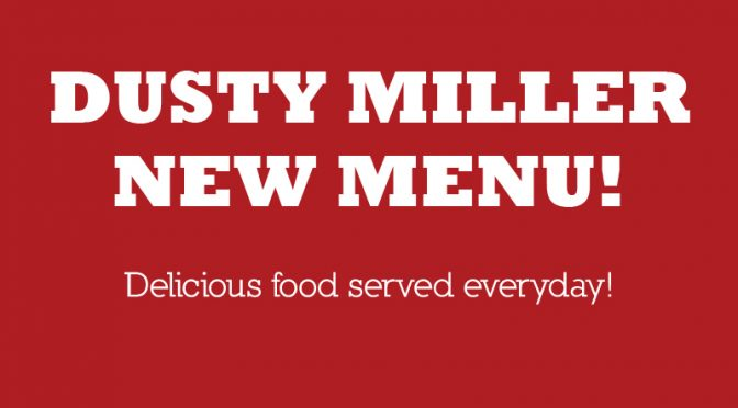 Dusty Miller New Menu